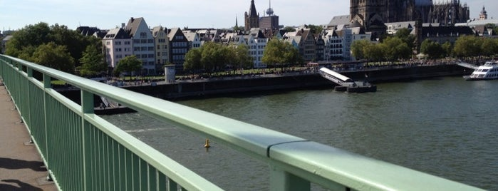 Deutzer Brücke is one of StorefrontSticker #4sqCities: Köln.