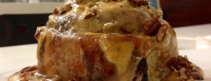 Cinnabon is one of Sweet world .