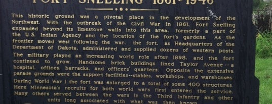 Fort Snelling Upper Post is one of historic.