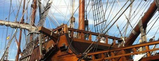 Galeón La Pepa is one of Fake Ships (fantasy replicas).