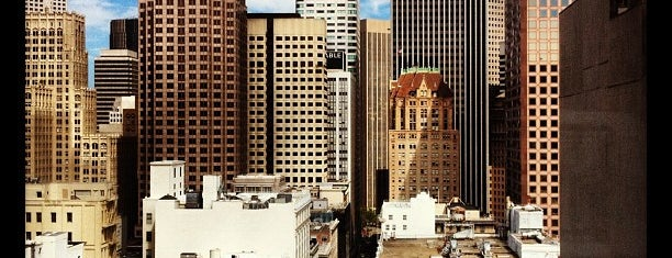 Grand Hyatt San Francisco is one of Tempat yang Disukai Brian.