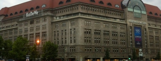 Kaufhaus des Westens (KaDeWe) is one of StorefrontSticker #4sqCities: Berlin.