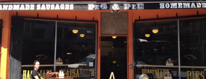 Pig & Pie is one of SF.