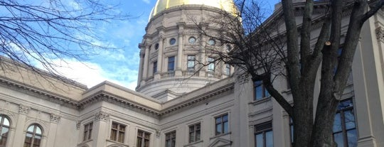 Georgia State Capitol is one of The Crowe Footsteps.