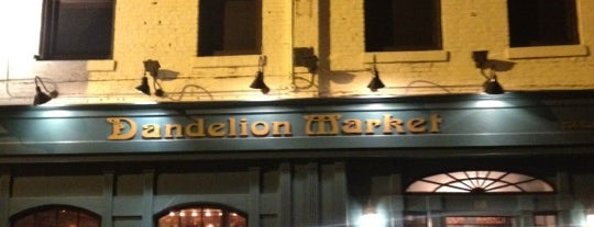 Dandelion Market is one of Charlotte.