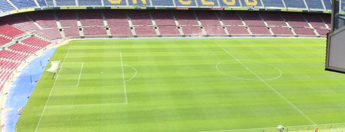 Camp Nou is one of Estadios Liga Española.