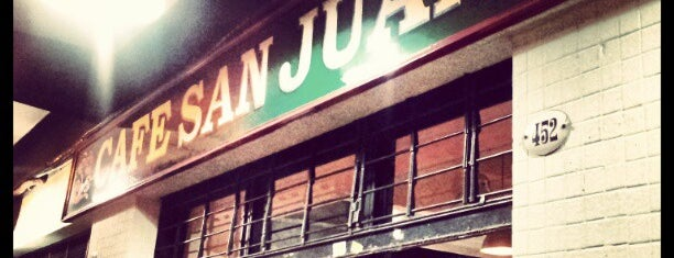 Café San Juan is one of Donde ir a comer.