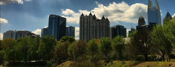 Piedmont Park Active Oval is one of Isabel: сохраненные места.