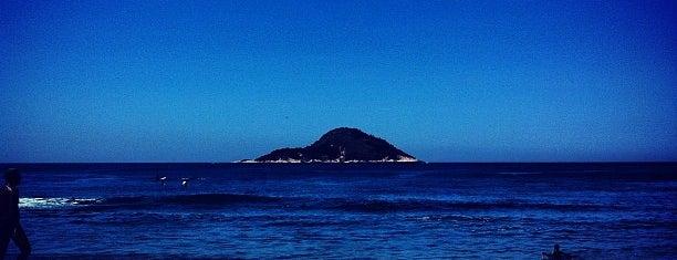 Praia de Grumari is one of Os 10 melhores picos de surf do Rio de Janeiro.