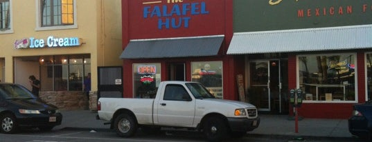 The Falafel Hut is one of Foodie Finds.