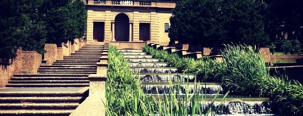 Meridian Hill Park is one of DC Monuments Run.