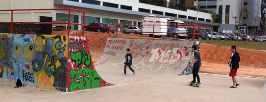 SkatePark Águas Claras is one of Locais curtidos por Anderson.