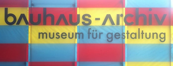 Bauhaus-Archiv is one of Berlin to-do list.