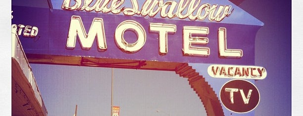 The Blue Swallow Motel is one of COVID Road Trip.