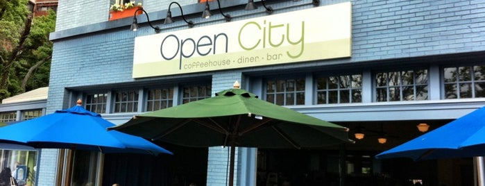 Open City is one of DC Brunch Spots.