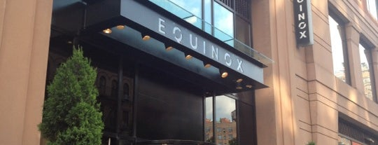Equinox West 76th Street is one of 416 Tips on 4sqDay Challenge - Dwayne List 1.