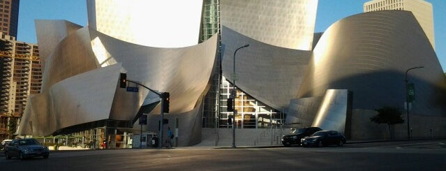 Walt Disney Concert Hall is one of SoCal Musts.
