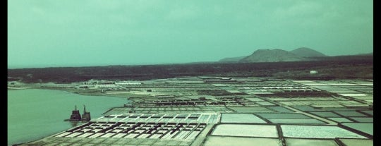 Salinas de Janubio - Yaiza is one of Lanzarote, Spain.