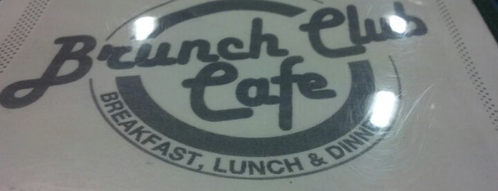 "The Brunch Club Cafe is one of Nancy""Nan""Apt."
