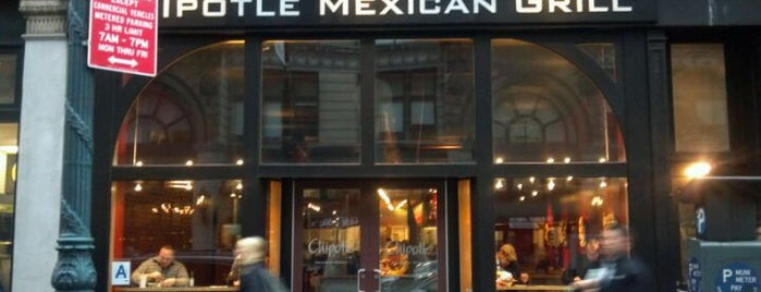 Chipotle Mexican Grill is one of Flatiron, Union & Gramercy.