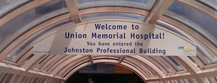 MedStar Union Memorial Hospital is one of JODY & MY PLACES IN MD REISTERSTOWN, OWINGS MILLS,.