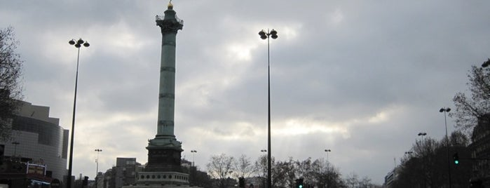 Place de la Bastille is one of  Paris Sightseeing .