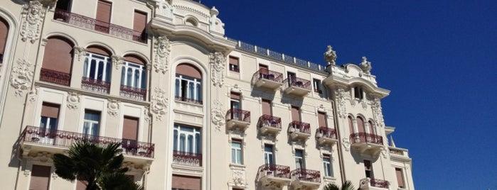 Grand Hotel Rimini is one of Tempat yang Disukai Ольга.