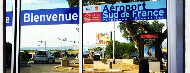 Aéroport Sud de France Perpignan is one of Airports.