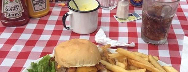 P.J. Clarke's is one of comida.