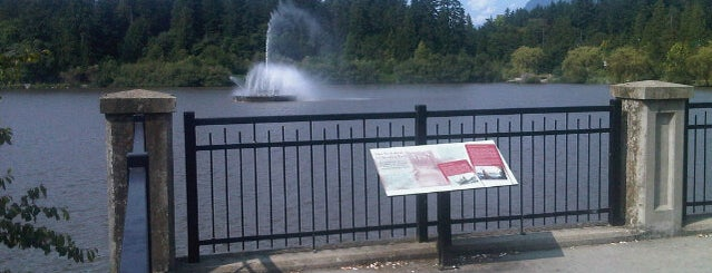 Lost Lagoon is one of Canada.