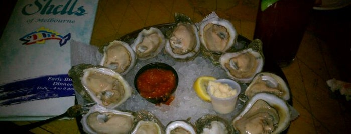 Shells Seafood is one of Cocoa Beach FL Trip @kurtwvs.