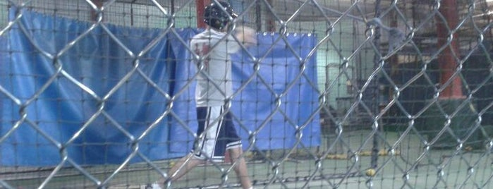 Chelsea Batting Cages is one of Adult Camp!.
