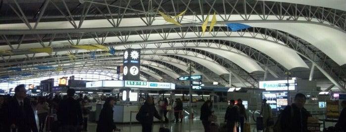 Aeropuerto Internacional de Kansai (KIX) is one of Airports I've been.