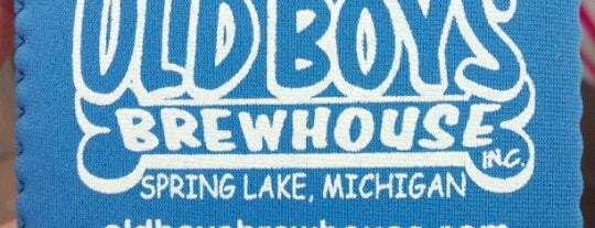 Old Boys' Brewhouse is one of Michigan Breweries.