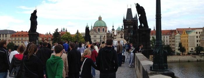Karlsbrücke is one of StorefrontSticker #4sqCities: Prague.