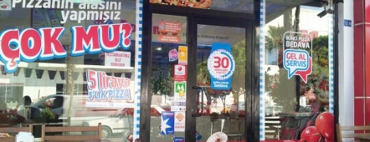 Domino's Pizza is one of Gezelim görelim.