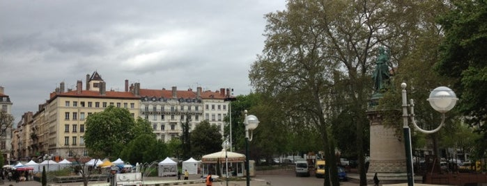 Place Carnot is one of Lyon.