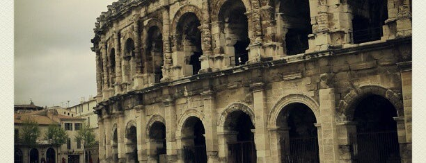 Arènes de Nîmes is one of wonders of the world.