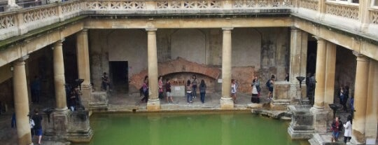 The Roman Baths is one of Europe Itinerary.