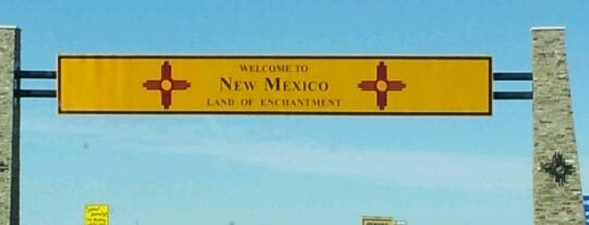 New Mexico Port Of Entry is one of I've Been Here.