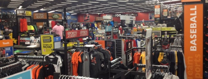 Sports Authority is one of San Francisco To Do List.