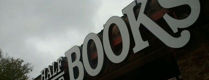 Half Price Books is one of Bookstores We Love.