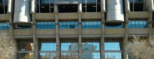 Estadio Santiago Bernabéu is one of Sports Arena's.