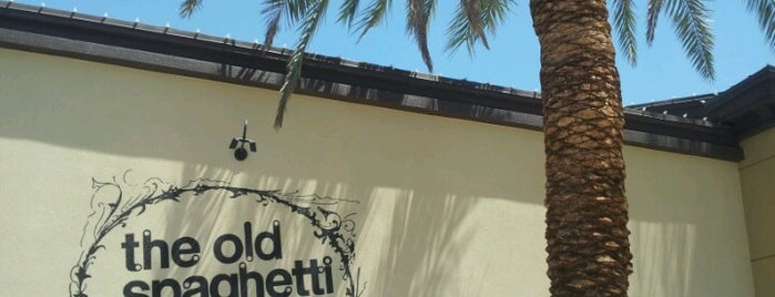 The Old Spaghetti Factory is one of Palm Springs, CA.