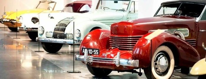 Museo Automovilístico de Málaga is one of Malaga, Spain.