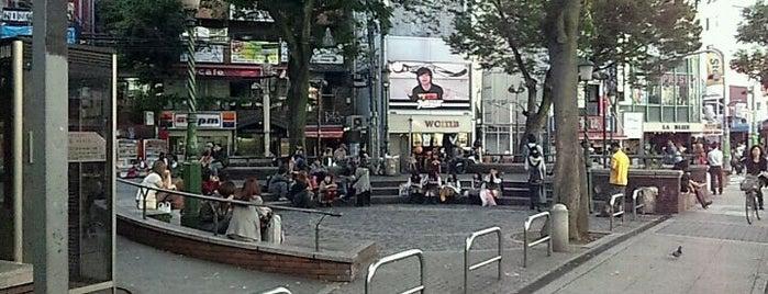 御津公園 (三角公園) is one of สถานที่ที่ Samson ถูกใจ.
