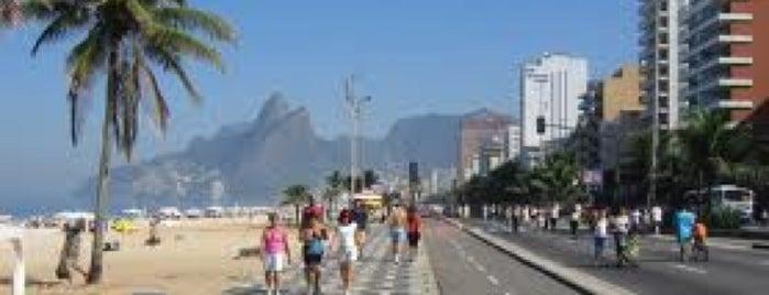 Praia de Ipanema is one of Lazer.