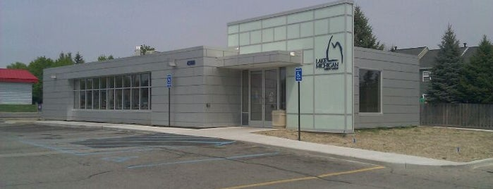 Lake Michigan Credit Union is one of Locais curtidos por Josh.