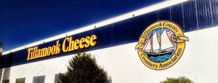 Tillamook Creamery is one of Oregon - The Beaver State (1/2).
