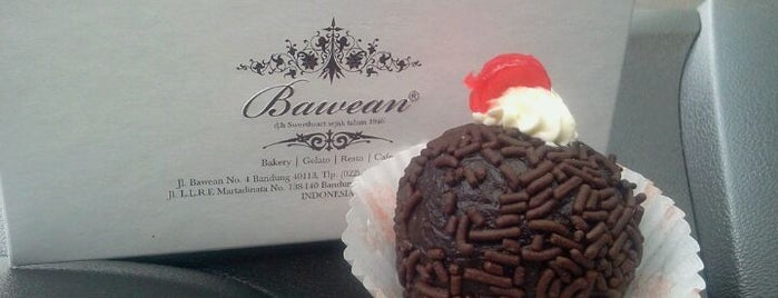 Bawean (Sweetheart) is one of What happens when food-addict strikes in Bandung.